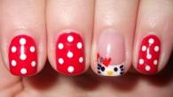 cute hello kitty nail designs