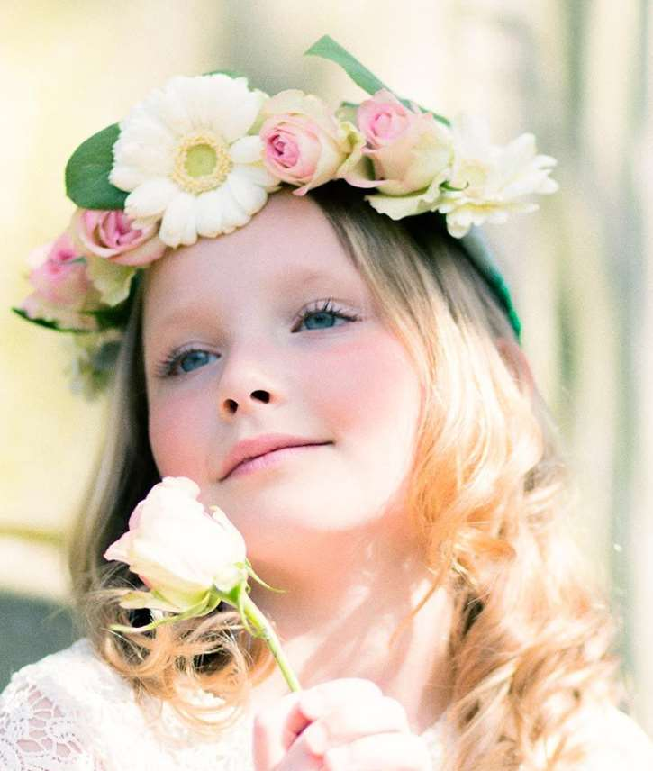 easy flower girl hairstyles
