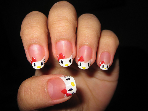 15 Pretty Hello Kitty Nail Designs Yve Style