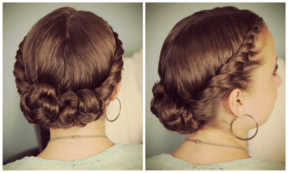 flat twist updo hairstyles
