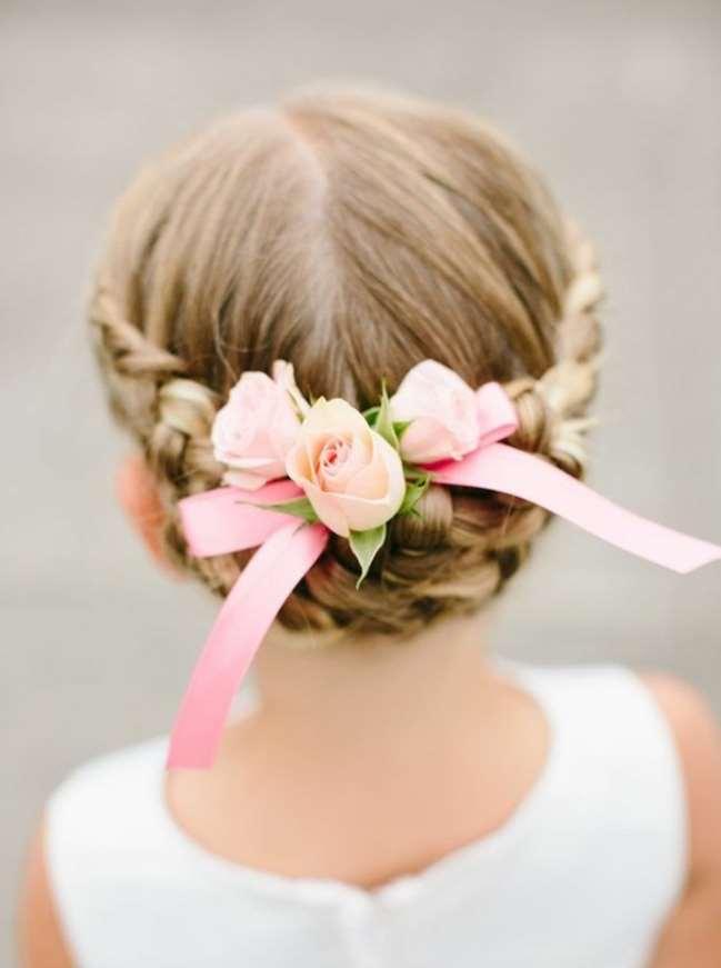 flower girl braid hairstyles