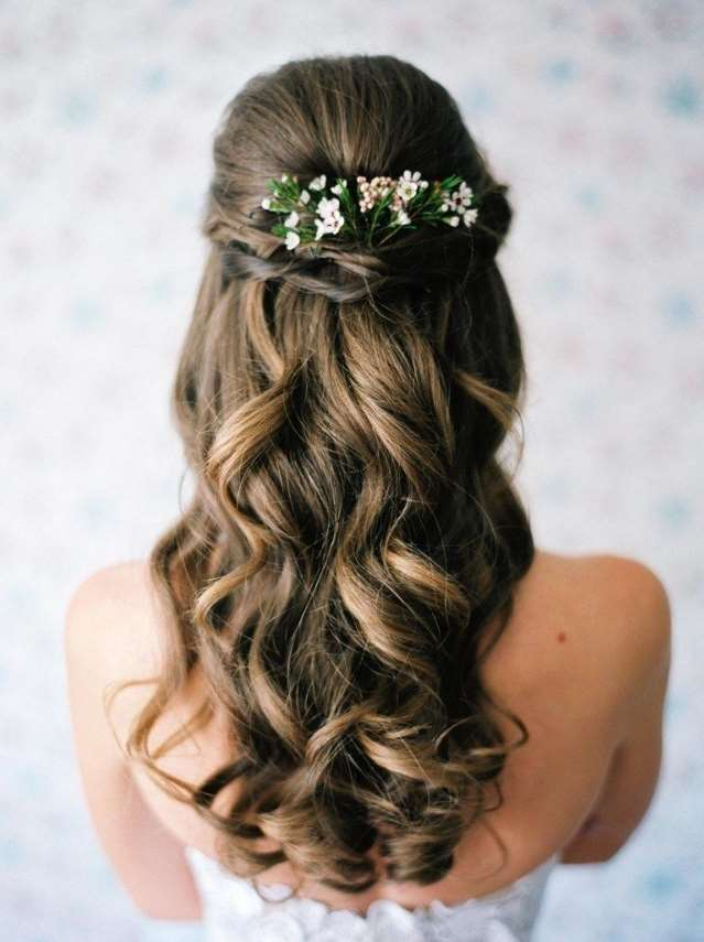 flower girl curly hairstyles