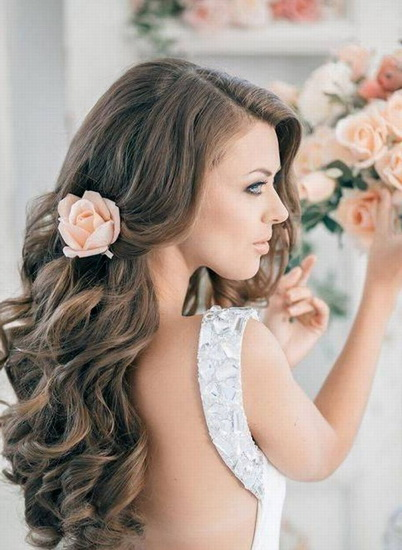 Terrific 15 Adorable Flower Girl Hairstyles Yve Style Com Hairstyle Inspiration Daily Dogsangcom