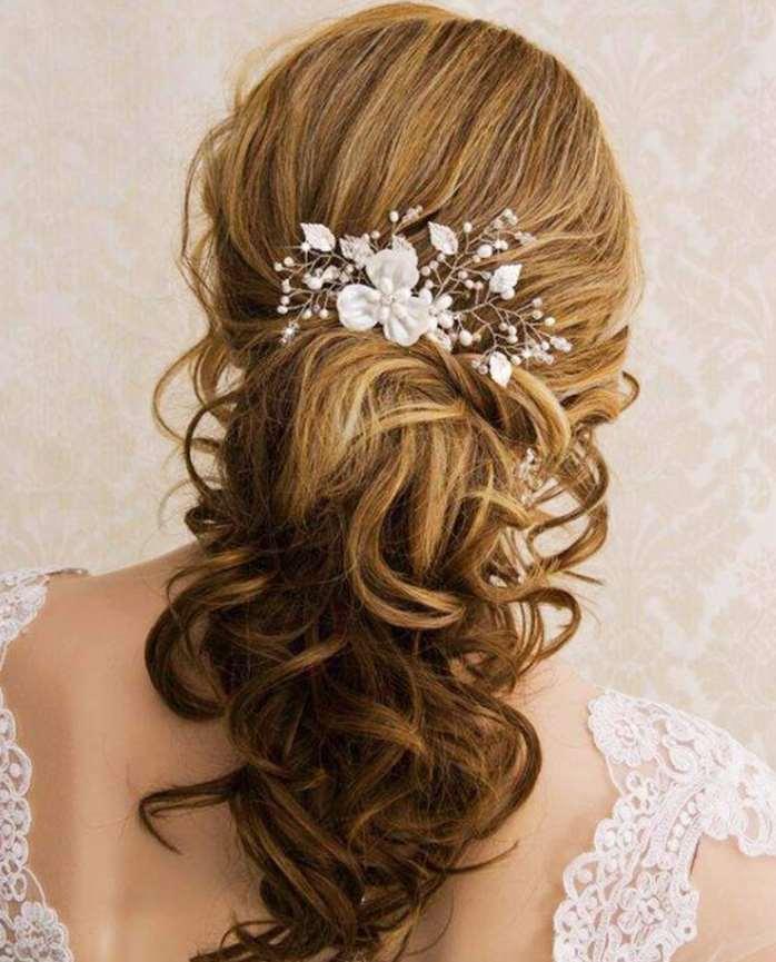 flower girl hairstyles curls