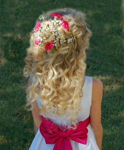 flower girl hairstyles for toddlers