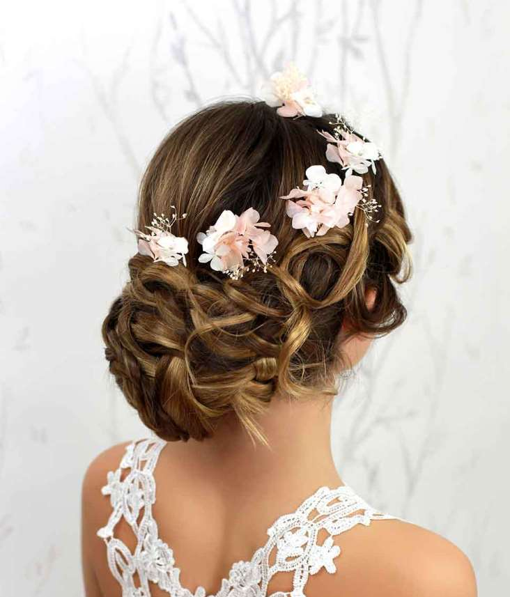 flower girl updo hairstyles