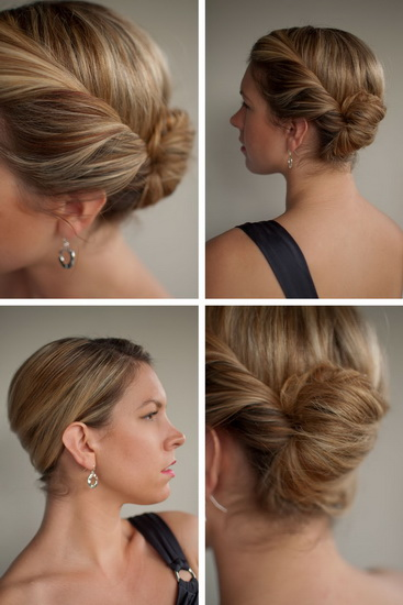 french twist hairstyles 10 EASY Twist Hairstyles