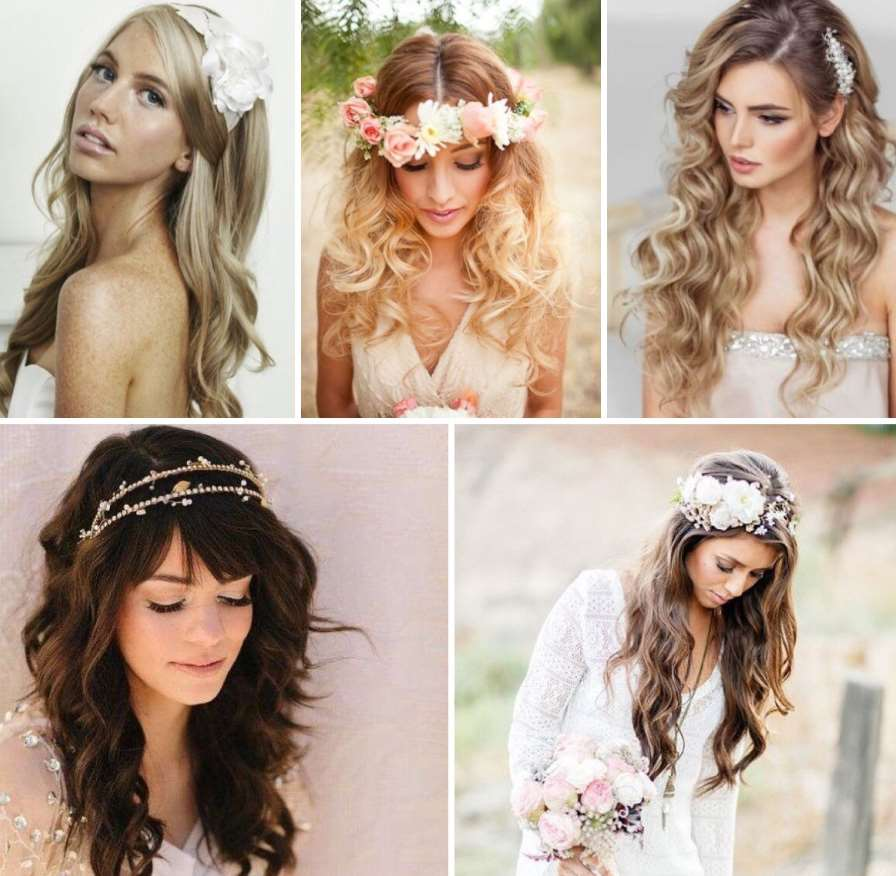 hairstyles for wedding flower girl flowers