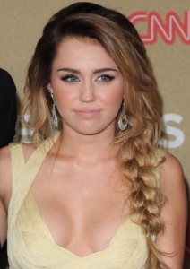 miley cyrus long hairstyles 2015