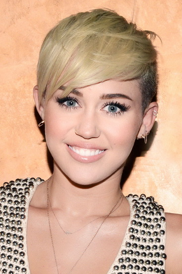 miley-cyrus-short hairstyles for fine hair