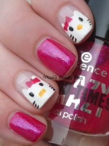pictures of hello kitty nails