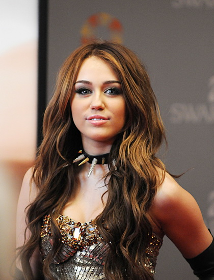 pictures of miley cyrus hairstyles