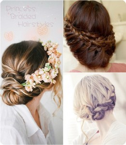 princess updo hairstyles