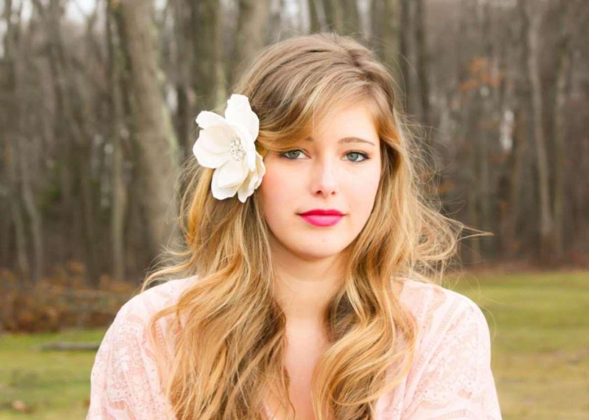 simple flower girl hairstyles