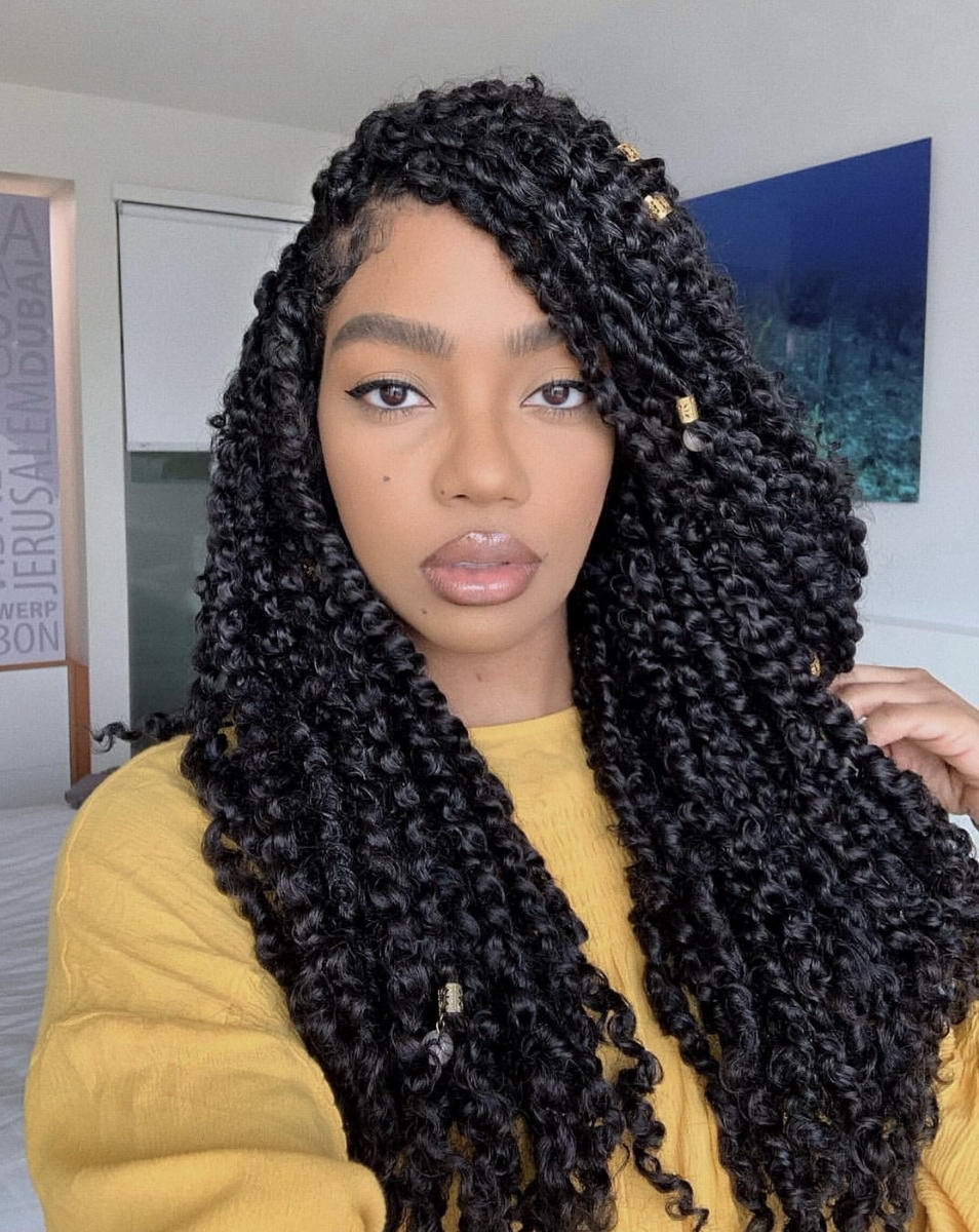 twist out hairstyles