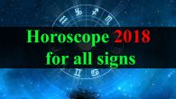 Horoscope 2018 for all signs