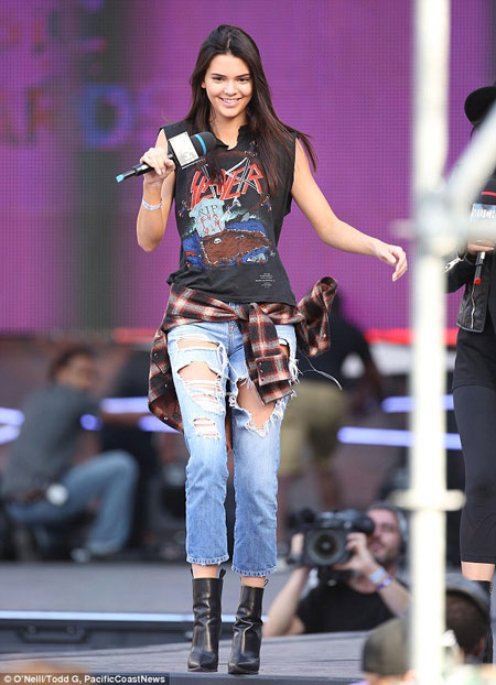 kendall jenner Rock top