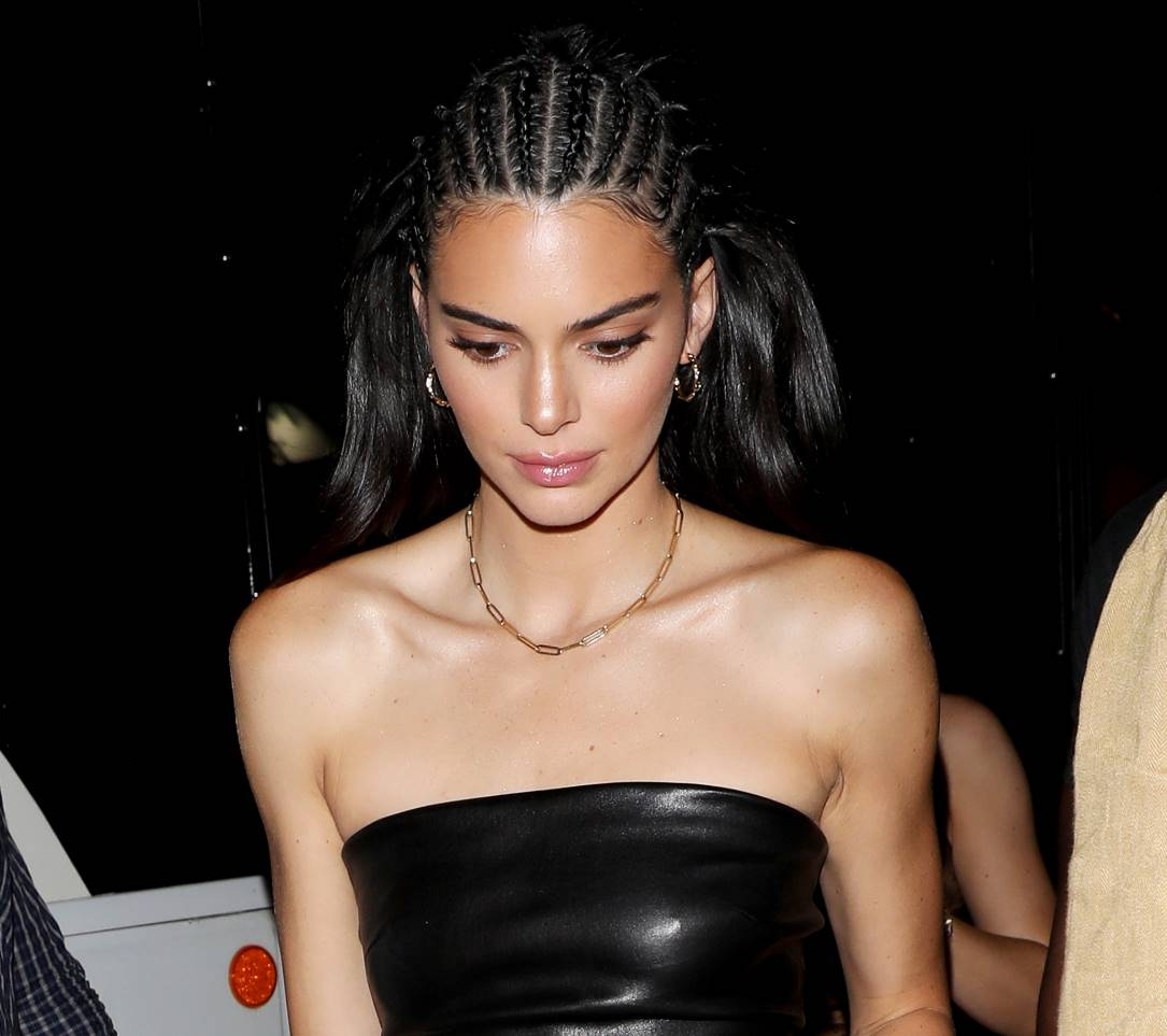 kendall jenner braided hair