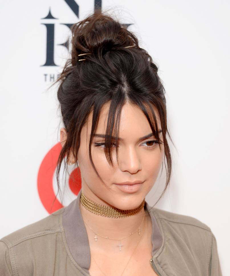 kendall jenner brow hair