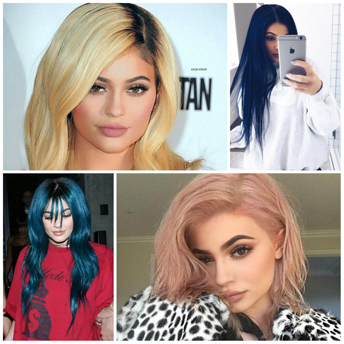 kylie jenner hairstyles