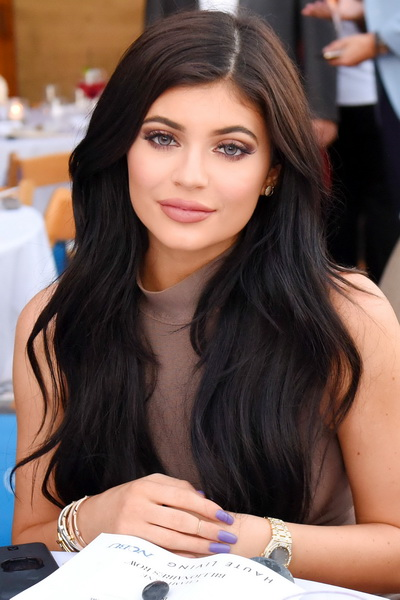kylie jenner long hair 2018