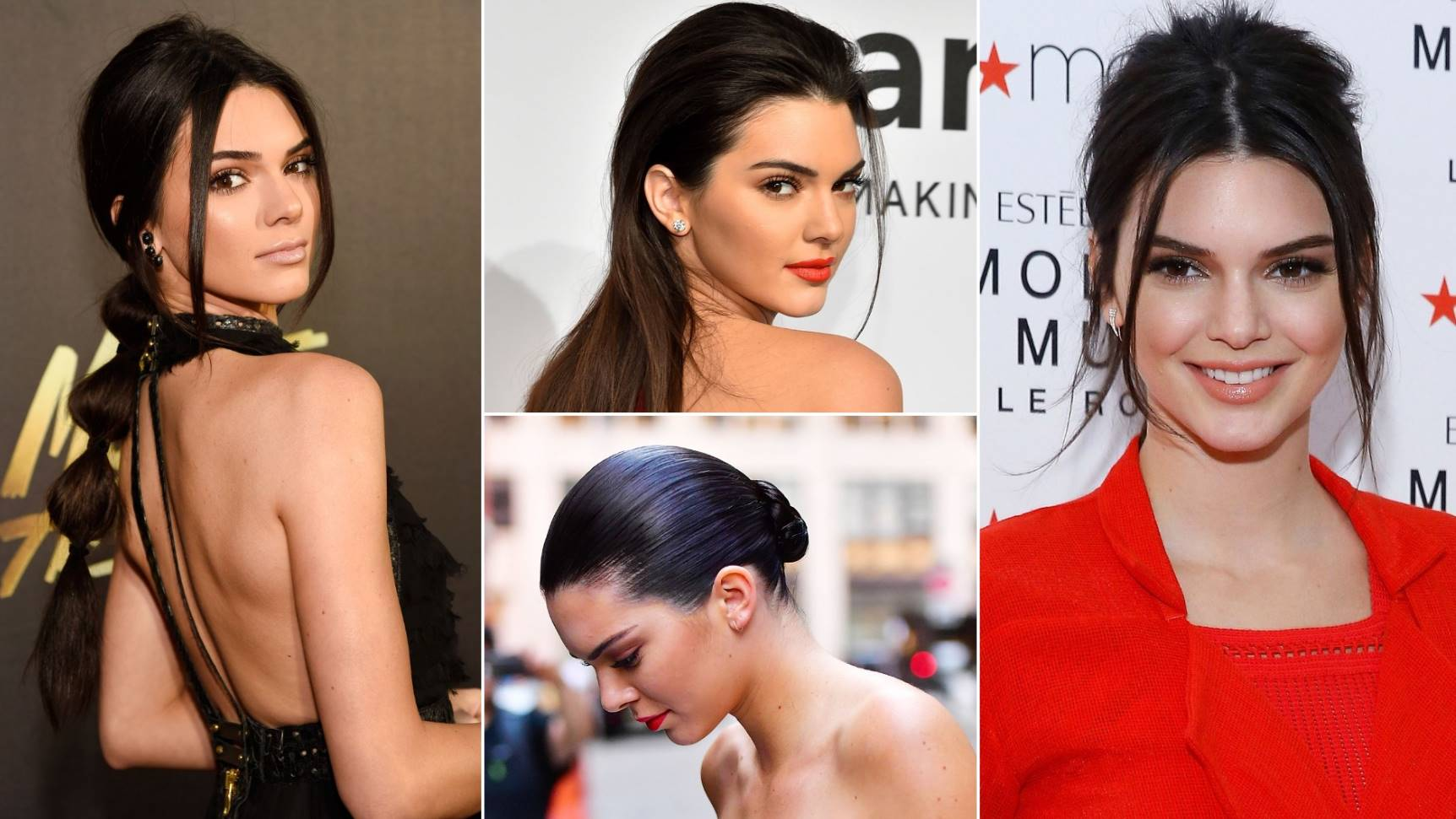 time table of kendall jenner hair styles