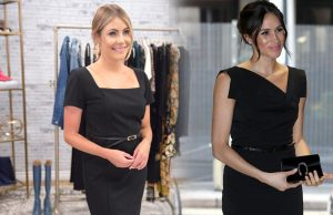 How to look like royalty in black dress
