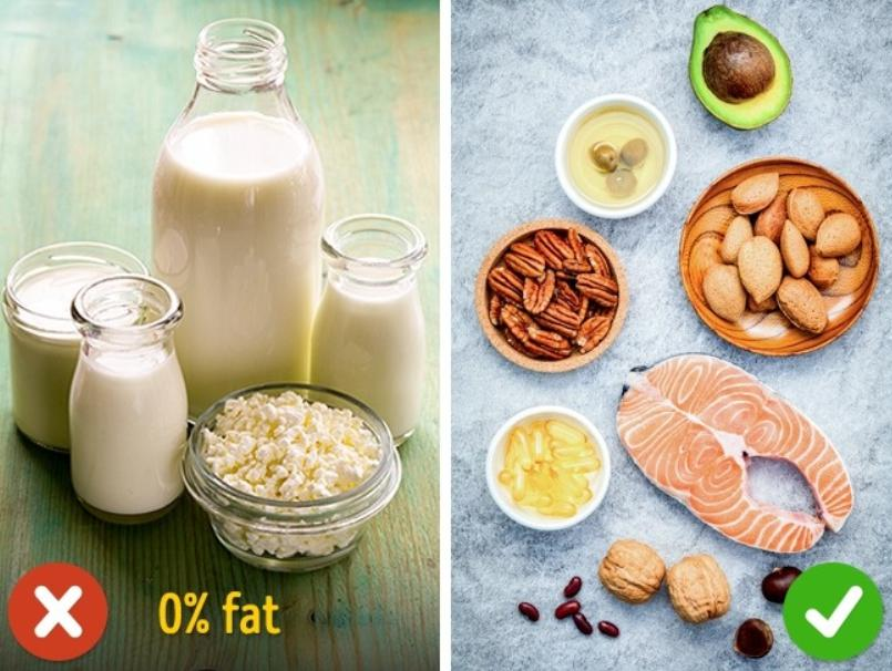 Low-fat products