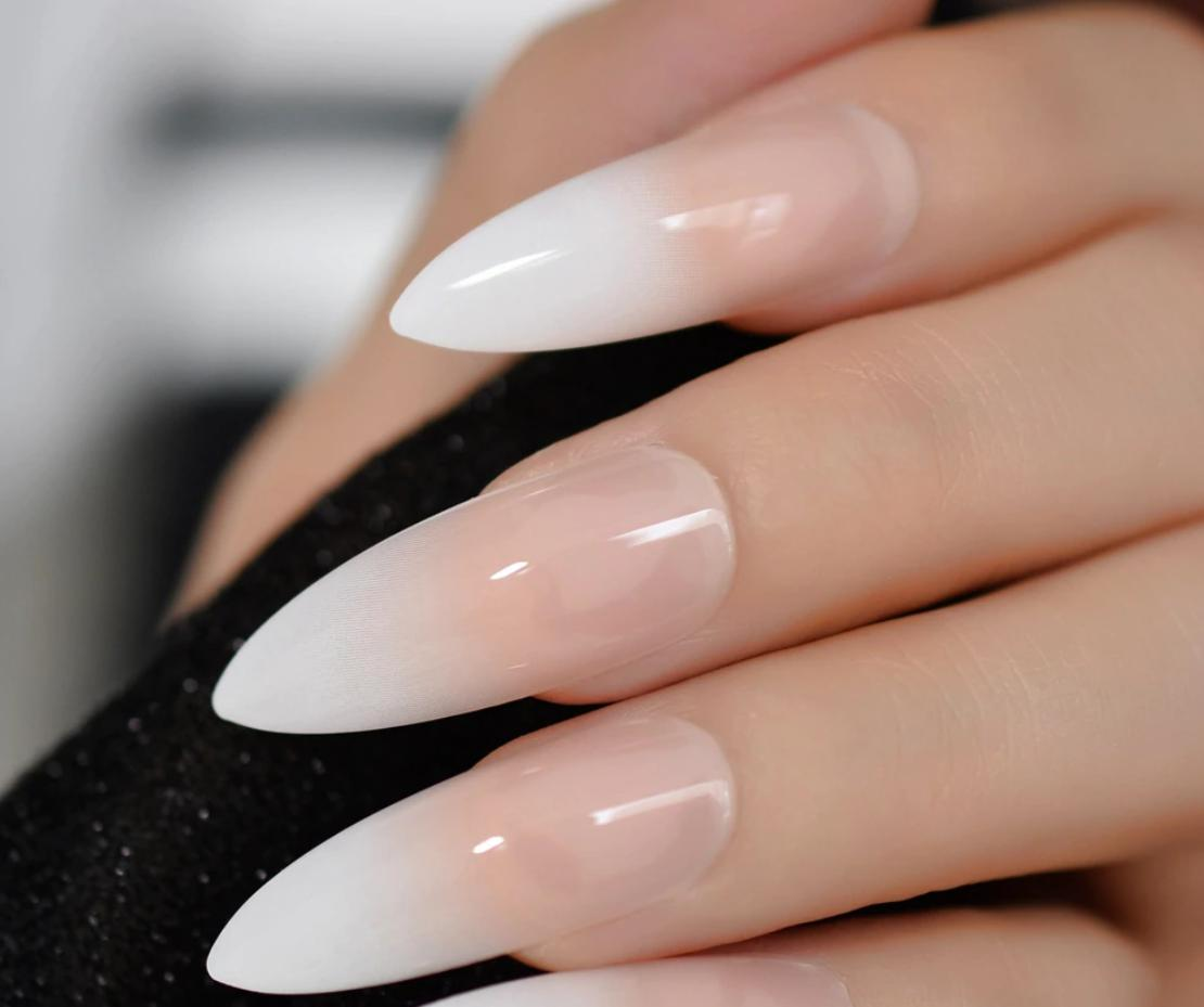 french stiletto nails