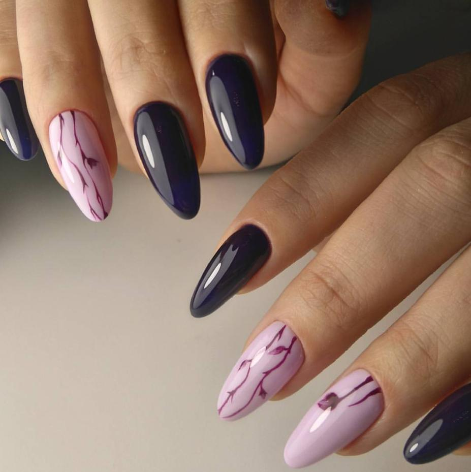 round stiletto nails