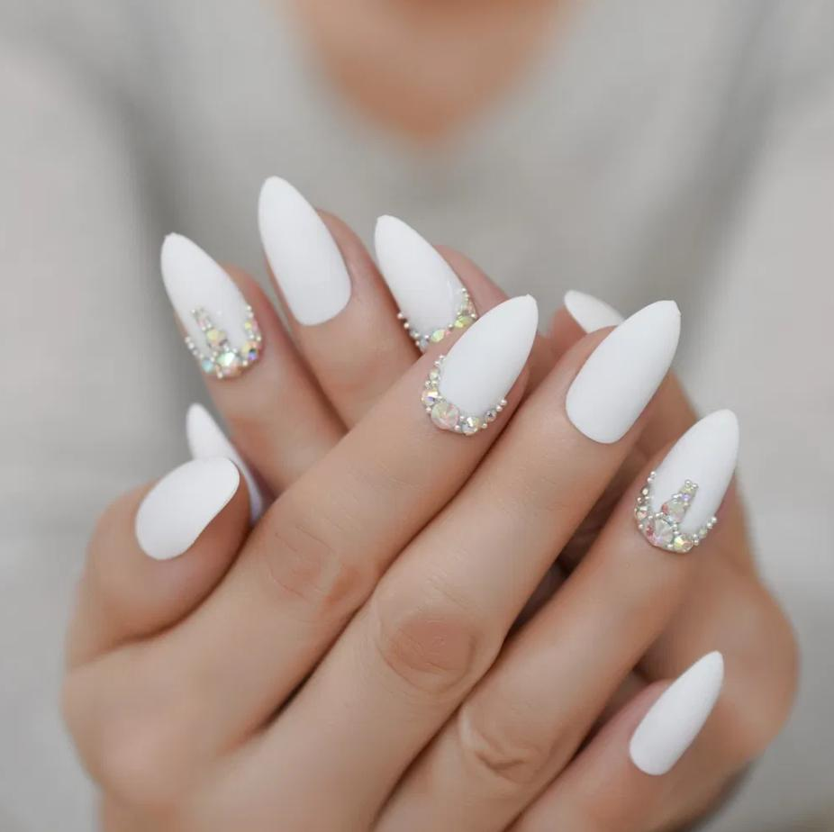 stiletto false nails