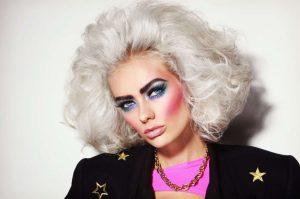 80s Makeup 1