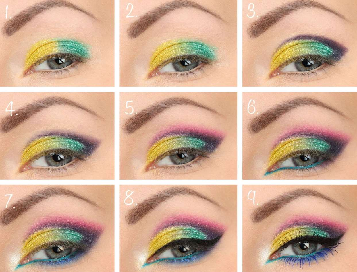 80s Makeup step-by-step tutorial