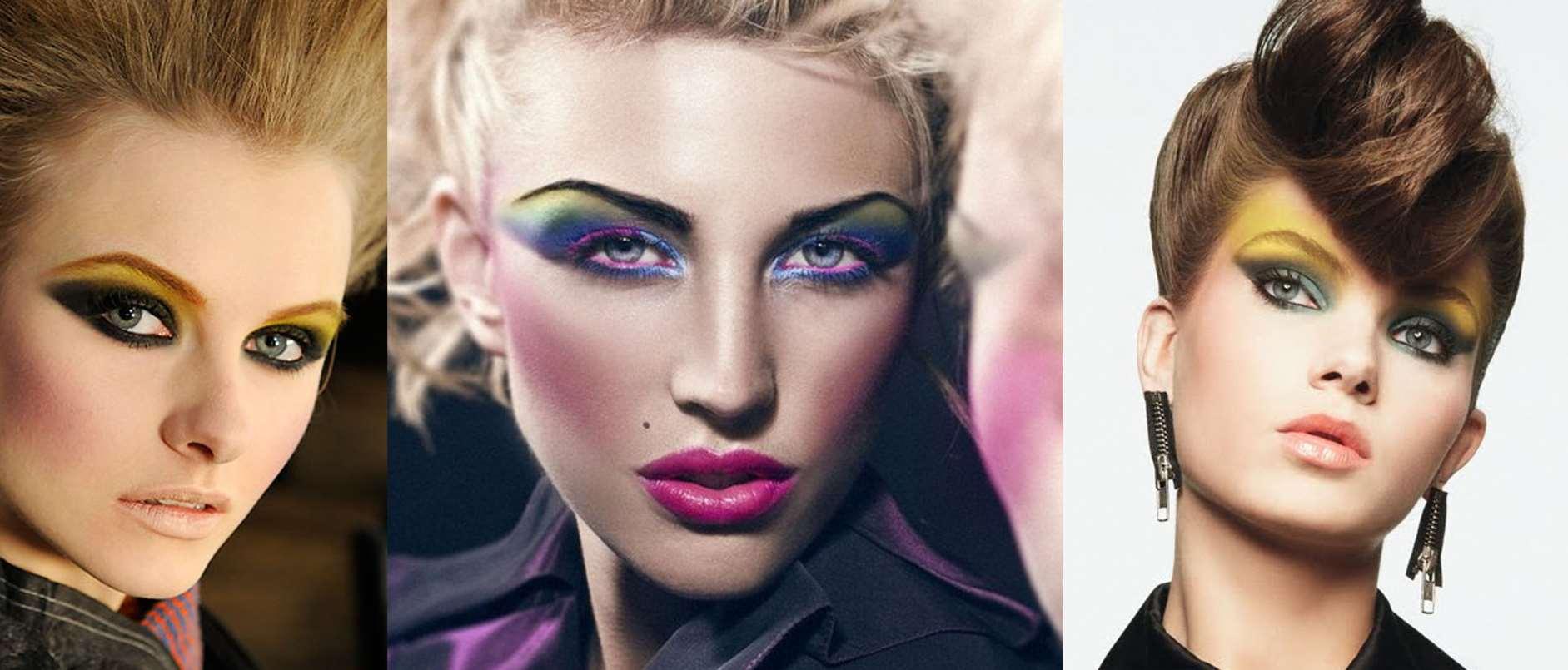 80s makeup look