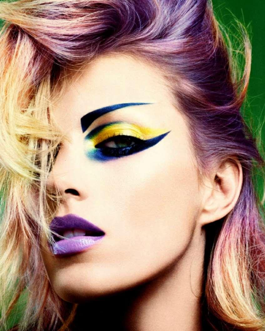 80s rock makeup