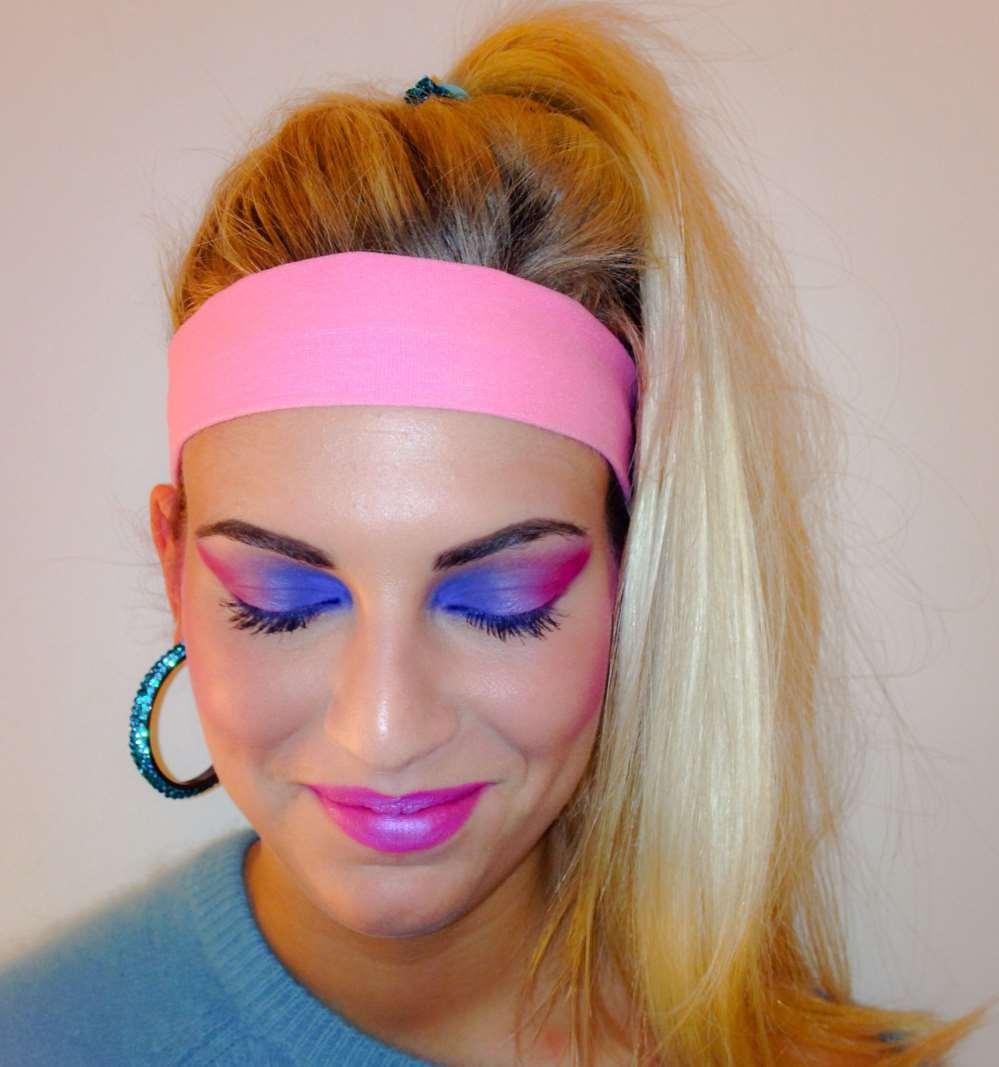 80s womens makeup