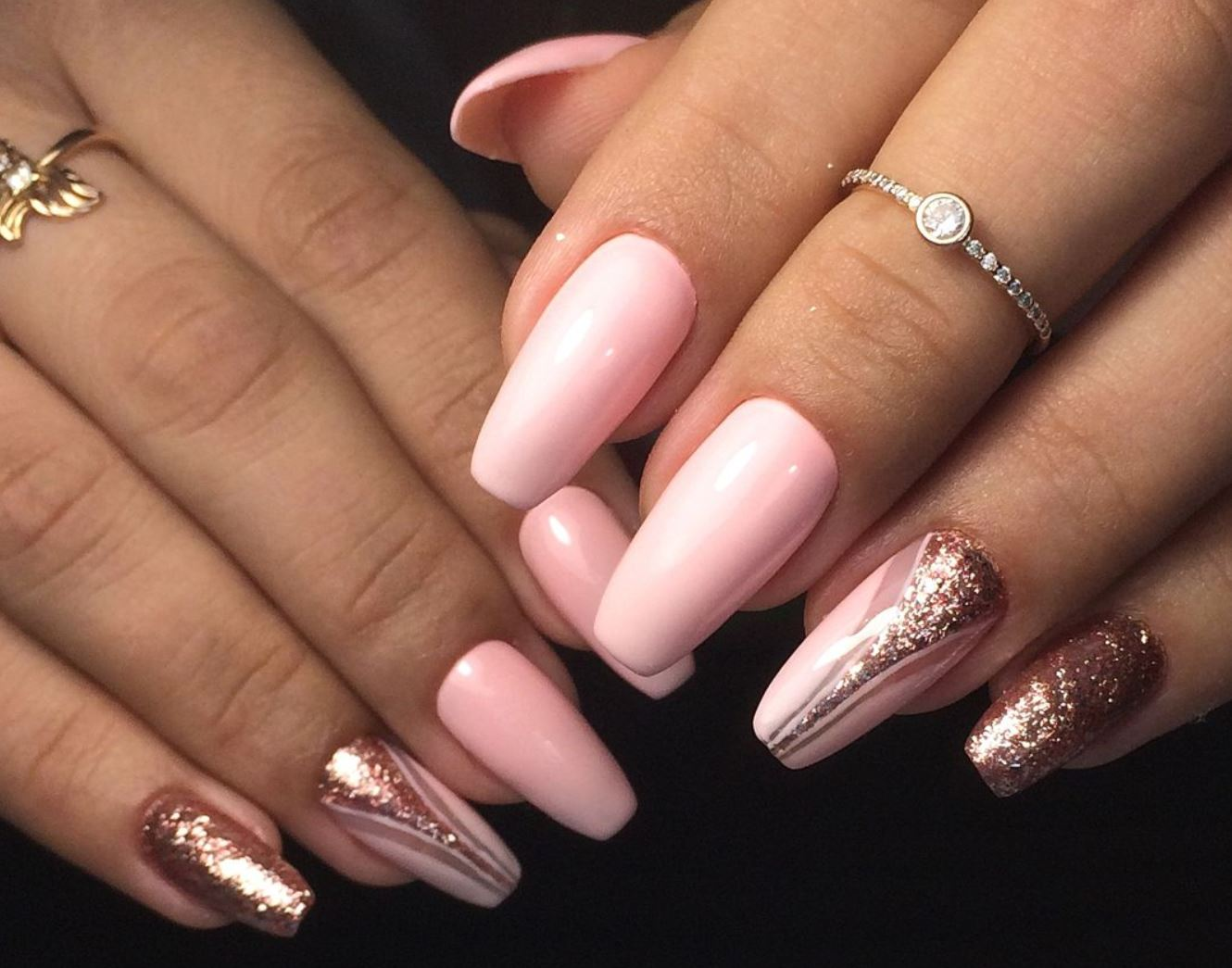 80 Brilliant Ballerina Nails that Everyone Will Love , Yve