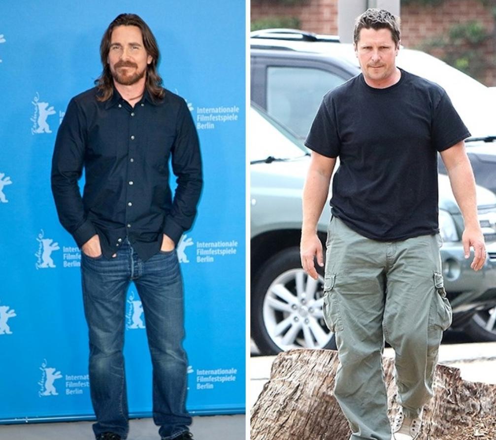 Christian Bale fat
