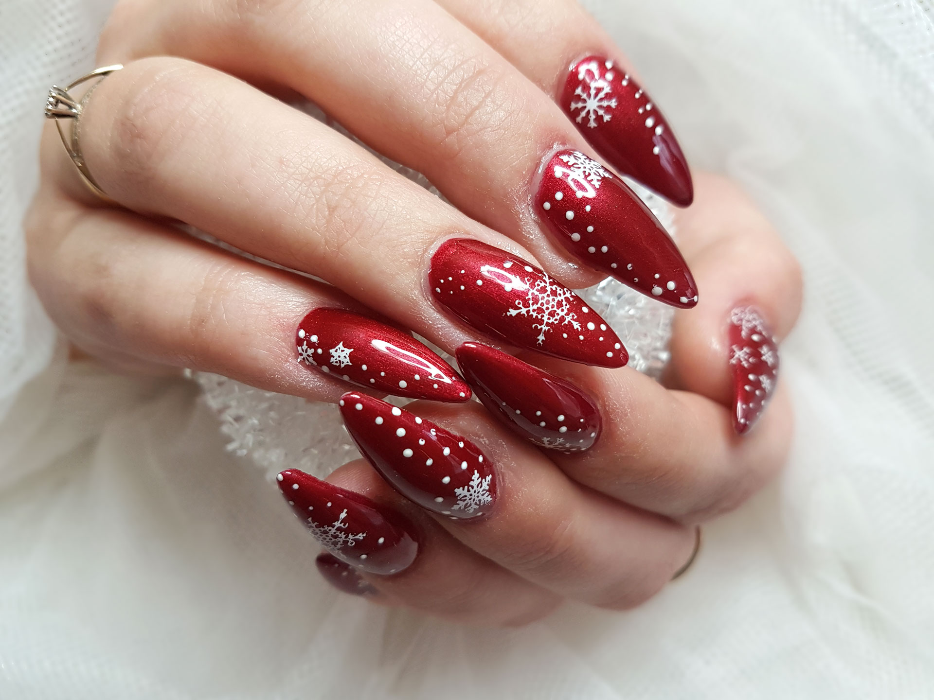 80 Festive Christmas Nails Designs Anyone Will Love , Yve