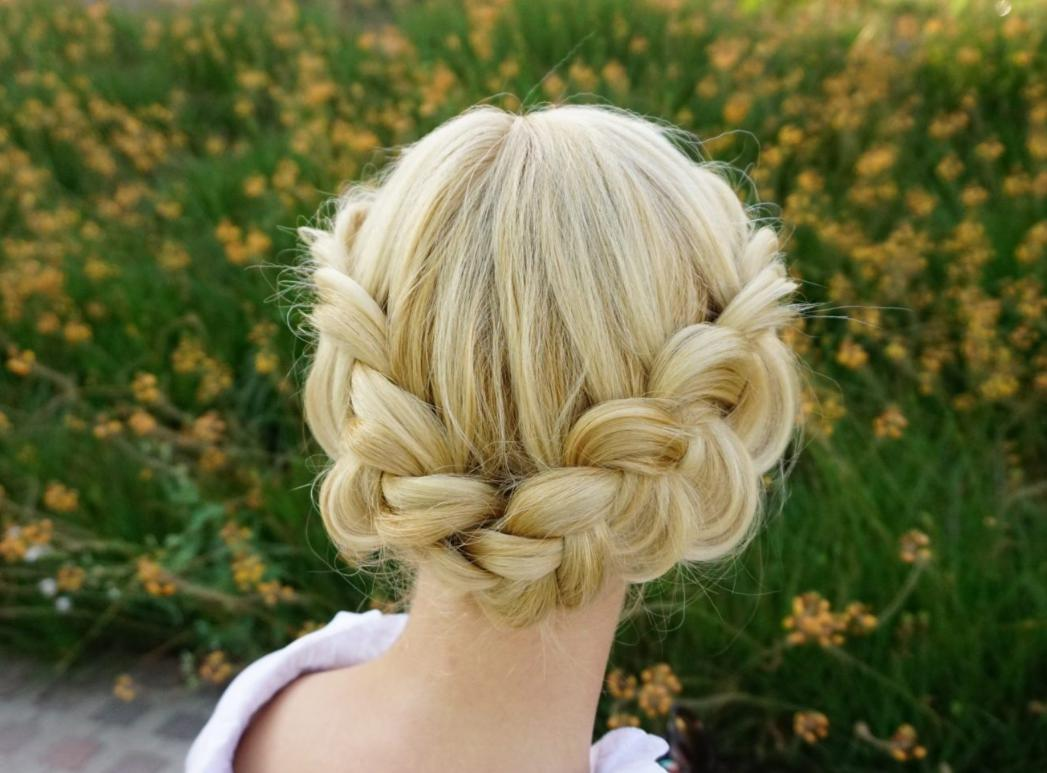 Crown Braid on Short Hair