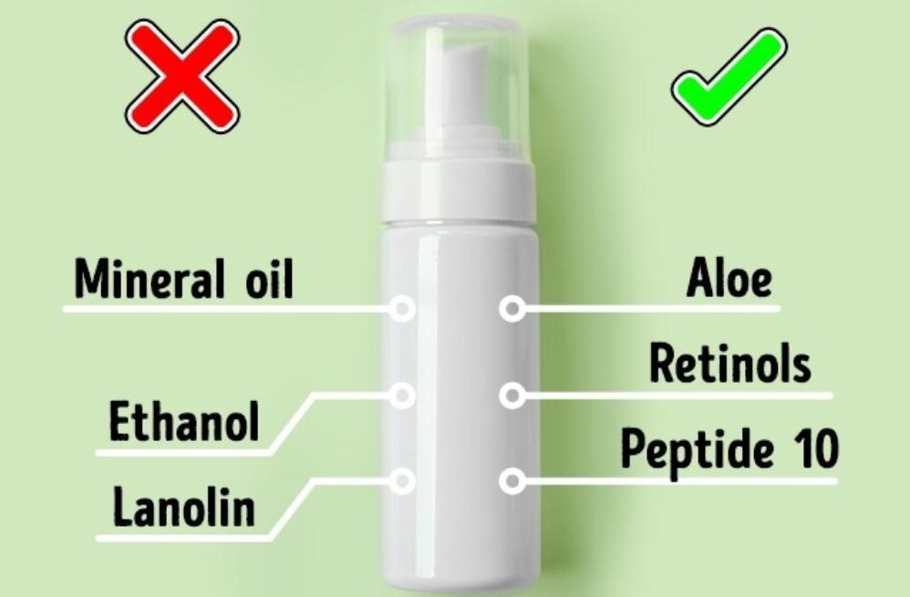 Decorative cosmetics cause acne