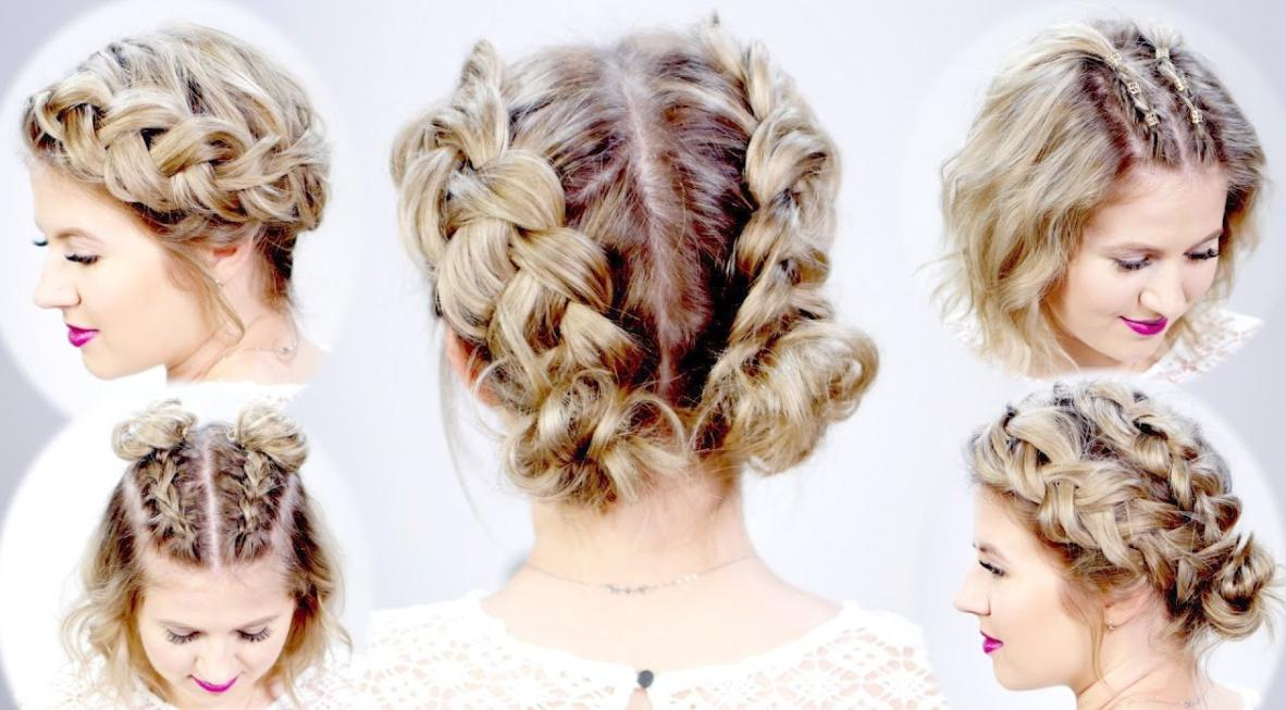 Dutch Braids for Brief Hair