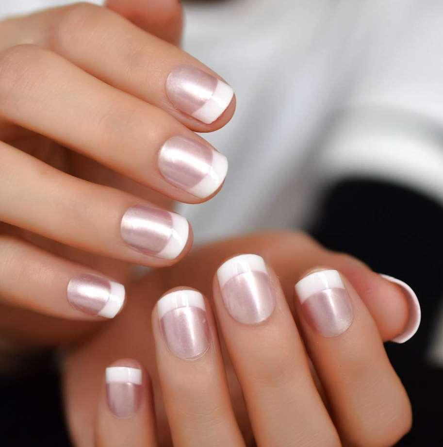 French short nails