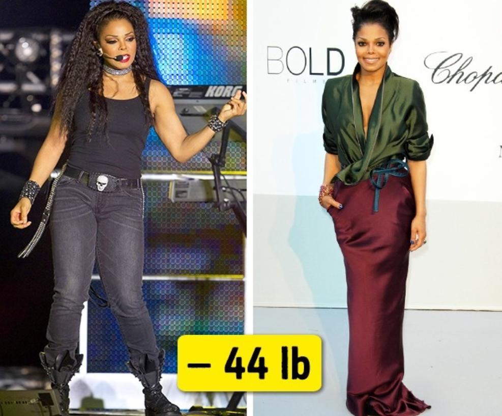 Janet Jackson diet