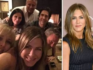 Jennifer Aniston's Friends first selfie breaks Instagram
