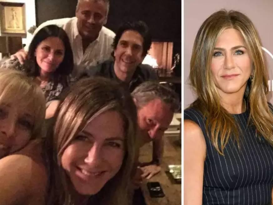 Jennifer Aniston's Friends first selfie breaks Instagram