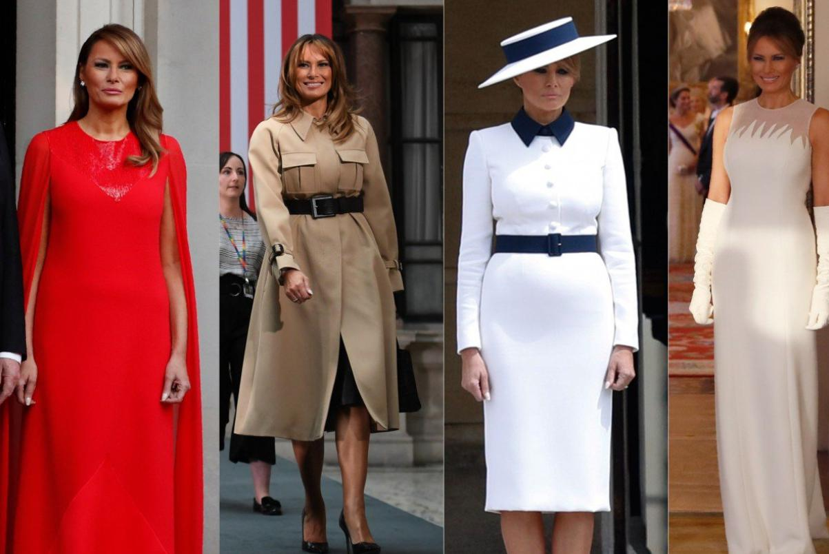 Melania as the First Lady of the United States of America