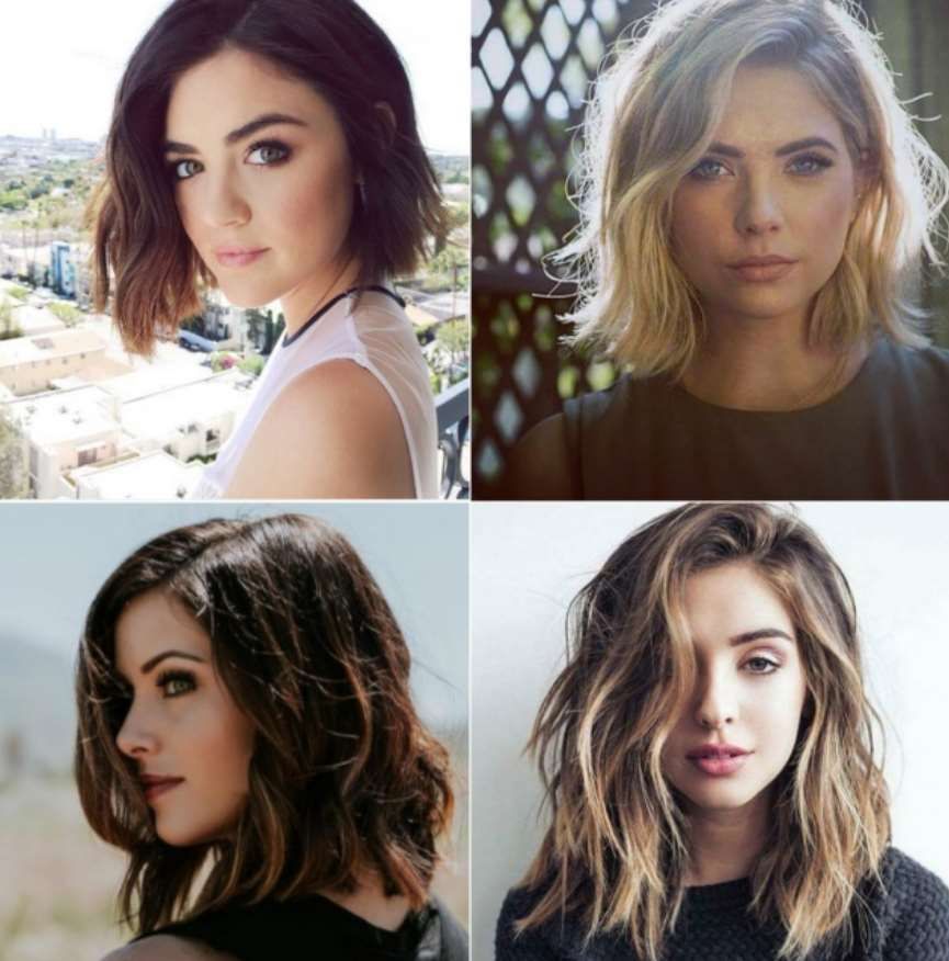 Multi-layered hairstyle