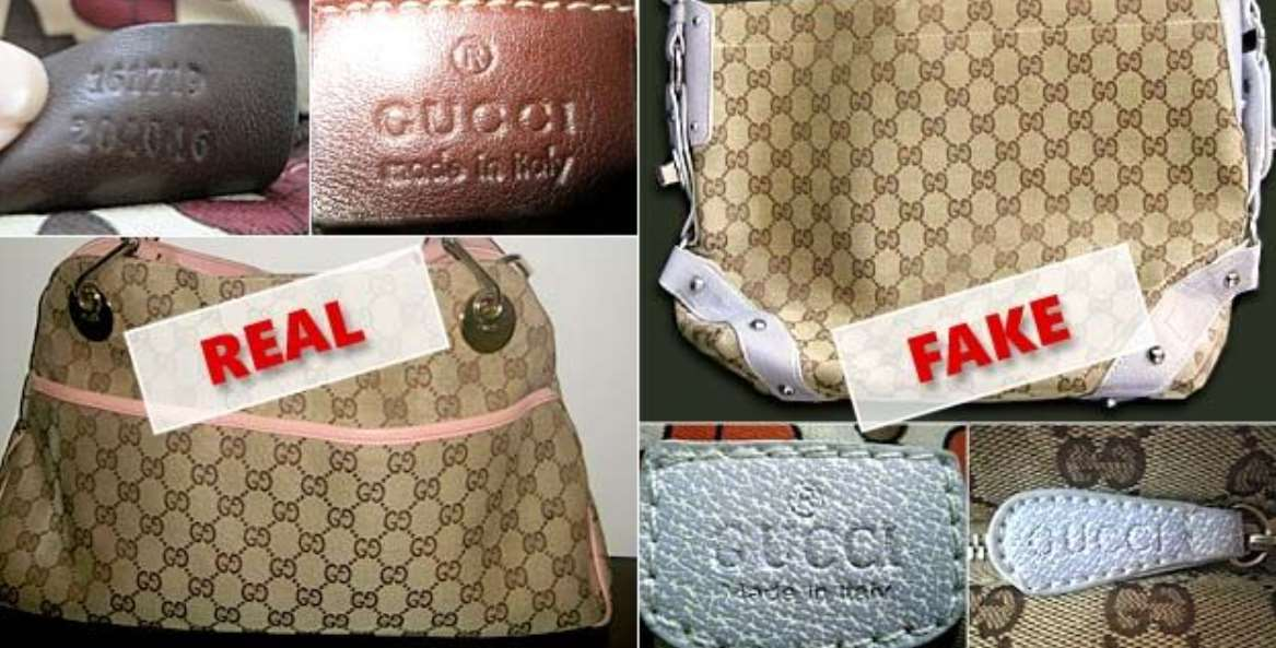 Original Fashion Items VS. the Fake Ones