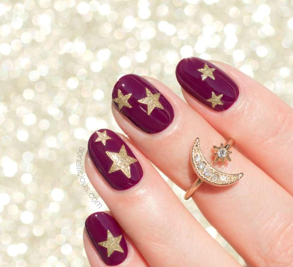 Stars short nails